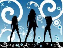 Vector fashion party illustration Royalty Free Stock Photo