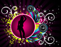 Vector fashion party illustration Stock Photography