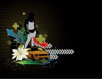 Vector fashion women illustration Stock Image