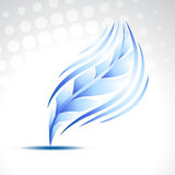 Vector feather Stock Images