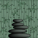Vector Feng Shui Illustration royalty free stock photo