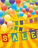 Vector festive banner. Sale. Stock Photography
