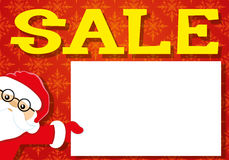Vector festive banner. Sale. Vector festive banner for your text. Sale Stock Photo