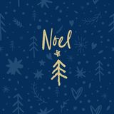 Vector festive Noel pattern, ornament, Christmas and New Year theme vector illustration