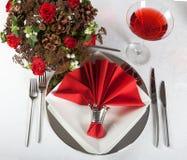 Vector festivo en rojo y el blanco 4 Fotografía de archivo libre de regalías
