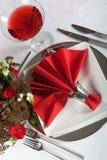 Vector festivo en rojo y el blanco 6 Imagenes de archivo