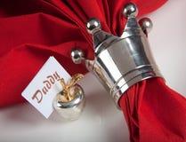 Vector festivo en rojo y el blanco 9 Fotos de archivo libres de regalías