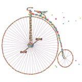 Vector fiets. Royalty-vrije Stock Foto