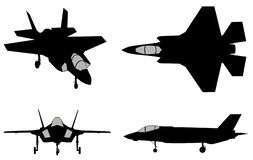 Free Vector Fighters Set Royalty Free Stock Photos - 157755038