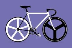 Vector fijo Illustation de la bicicleta del engranaje Fotografía de archivo libre de regalías