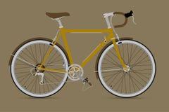 Vector fijo IllustationE de la bicicleta del engranaje Imagen de archivo