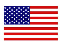 American flag - United States of America stock images