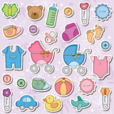 Baby Accessories Clip Art Stock Images