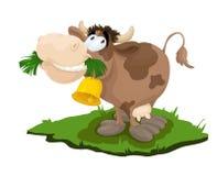 Happy cow. An Vector file `Happy cow vector illustration
