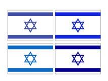 Israeli flag - State of Israel. Vector file of Israeli flag - State of Israel, country in Western Asia royalty free illustration