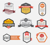Vector file is organized in layers to separate Graphic elements. From Text and Shadows stock illustration