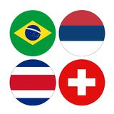 World countries flags royalty free stock image
