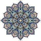 Vector filigree mandala. Isolated on white background. The stylized elements of gothic architecture Stock Photo