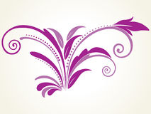 Vector filigree pattern with background Stock Images