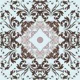 Vector filigree pattern  swirl ornament. Vector filigree pattern with swirl ornament Stock Images