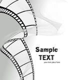 Vector film/fotofilm Royalty-vrije Stock Afbeeldingen