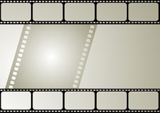 Vector film frame. Computer designed editable vector film frame Stock Photo