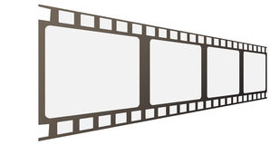 Vector film frames Royalty Free Stock Image