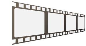 Vector film frames. The film frames (vector illustration Royalty Free Stock Image