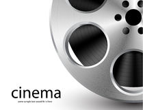 Vector film reel Stock Image