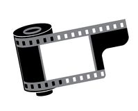 Vector. Film reel Royalty Free Stock Images