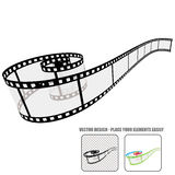 Vector film roll Royalty Free Stock Images