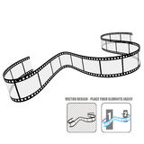 Vector film roll. Element Royalty Free Stock Images