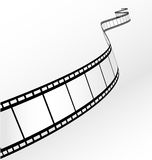 Vector film strip. Vector blank film strip - illustration Royalty Free Stock Images