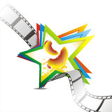 Vector film strip background collection Stock Photos