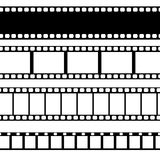 Vector film strip illustration. Royalty Free Stock Photo