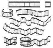 Vector film strip set. Film frames collection. Vector illustration. Vector film strip set. Film frames collection. Vector illustration Stock Photo