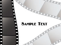Vector film strips Stock Images