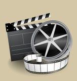 Vector filmapparatuur Stock Foto's
