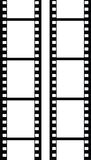 Vector filmstrip Stock Foto's