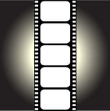 Vector filmstrip Royalty Free Stock Photography