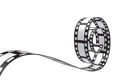 Vector Filmstrip Design Stock Images