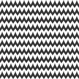 Vector fine Zigzag Chevron Seamless Pattern Stock Image