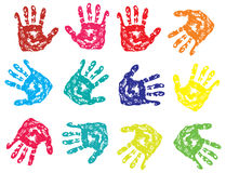 Vector fingerprint Stock Photography