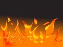 Vector fire Stock Photo