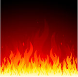 Vector fire background