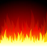 Vector fire background Stock Photo