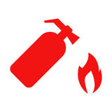 Vector Fire Extinguisher Icon Set. Fire extinguisher. Icon vector illustration eps 10 Royalty Free Stock Photography