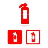 Vector fire extinguisher,Illustration EPS10. Great for any use Stock Photos