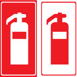 Vector fire extinguisher,Illustration EPS10. Great for any use Royalty Free Stock Photo