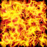 Vector fire flame texture. Background Royalty Free Stock Image